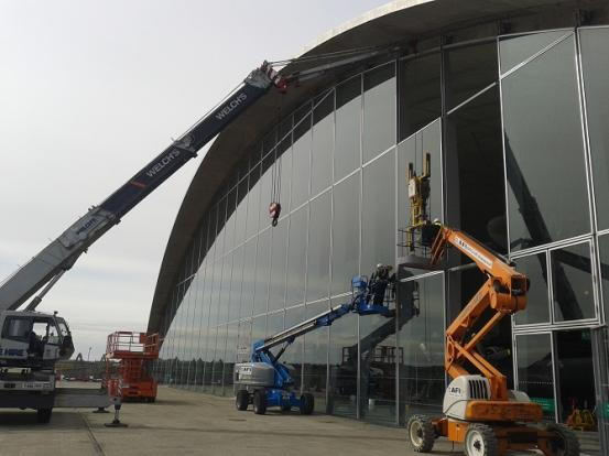 Rooflight Solutions Curtain Walling