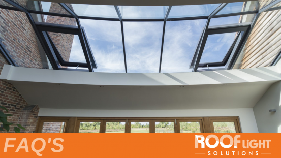 Your Rooflight FAQs: Common Rooflight Questions
