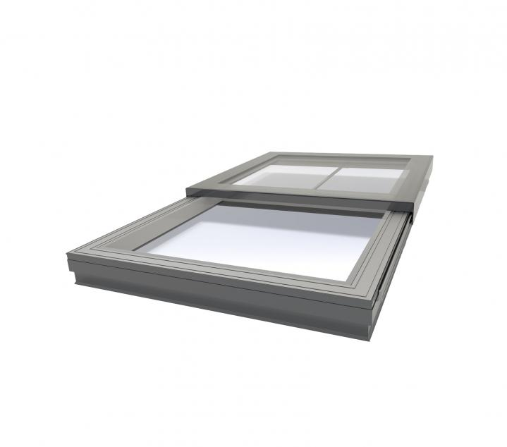 Mono Pitched Sliding Rooflight