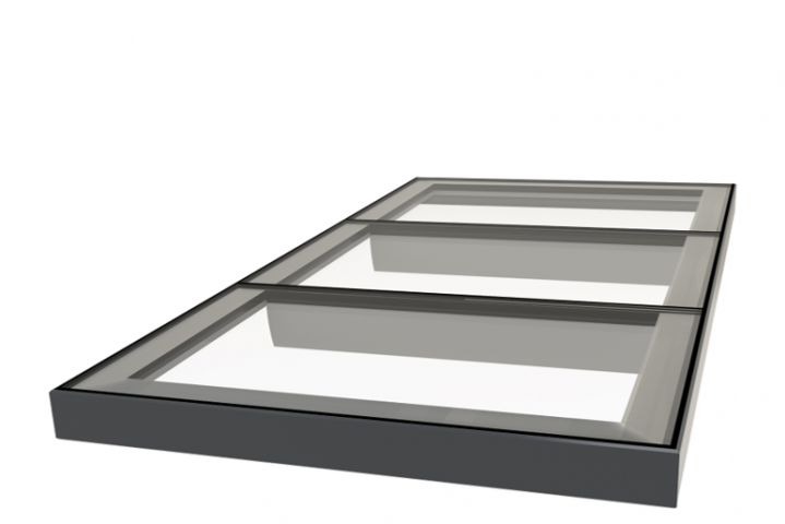 Multi-section Flatglass Rooflights