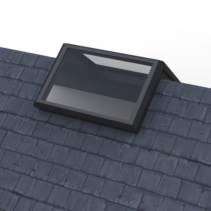 Ridge-Light Rooflight