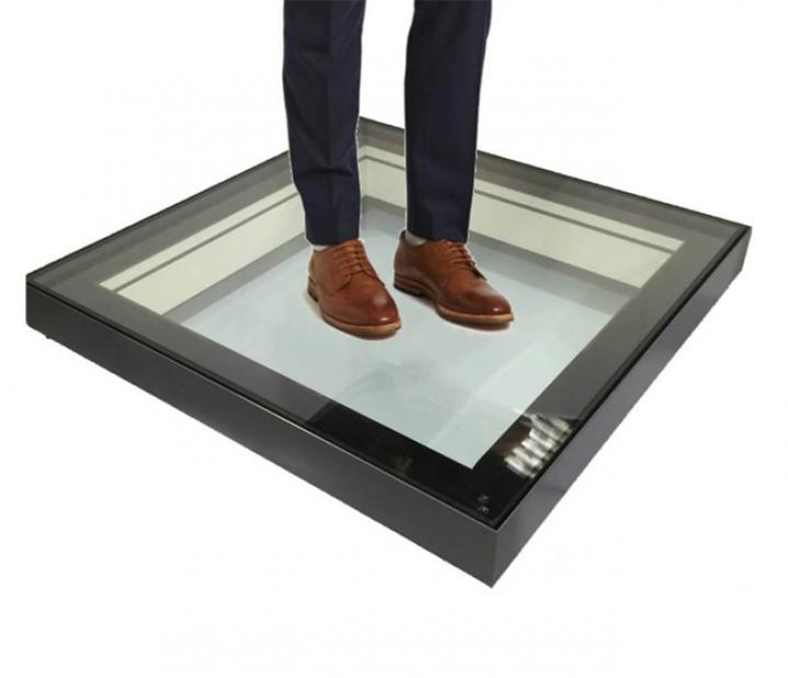 Internal Walk On Glass Floor
