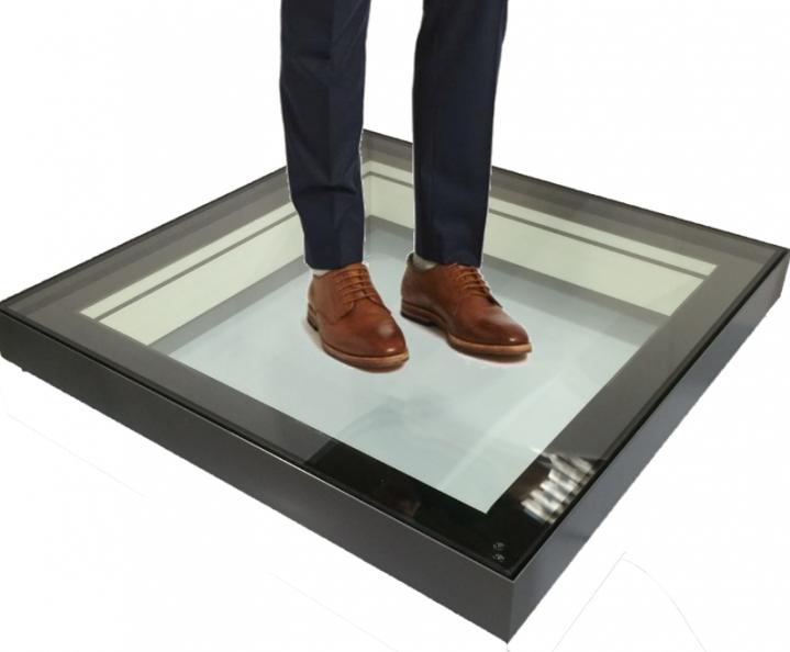 External Walk On Glass Rooflight